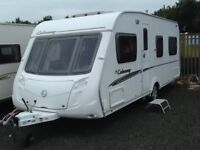 2008 swift colonsay fixed bed 4 berth with fitted mover