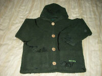 Boys thick jacket style fleece