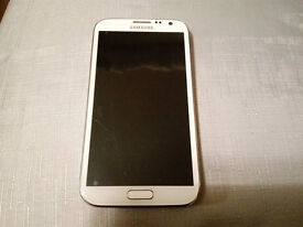 Samsung Galaxy Note 2 II GT-N7100 16GB Marble White Unlocked Good Condition FREE Extras