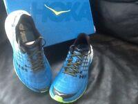 Hoka One One Clayton running shoes trainers very light
