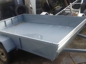 True bargain 9x6 metal trailer with jocky wheel gone now thanks Clayton South Kingston Area Preview