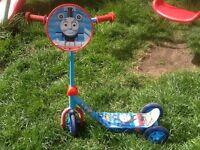 Thomas three wheeled scooter