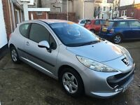 Peugeot 207 1.4 sport lovely condition brand new 12months mot and fresh service