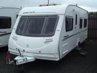 2007 sterling cruch mhairi fixed bed 4 berth with awning