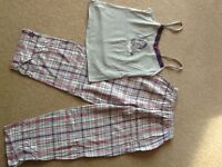 M&S Eeyore pyjama set - ladies size 8