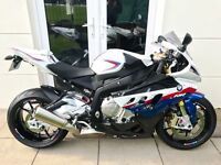 BMW S 1000 RR LOW MILES AS NEW!!