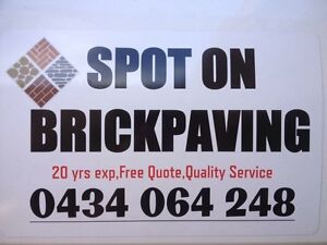 Brickpaver brickpaving bricks paver paving pavers handyman free Landsdale Wanneroo Area Preview