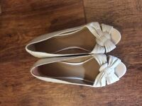 Two pairs of barely worn wedges - size 6