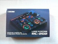 Boss RC 202 FX loop station 'AS NEW'