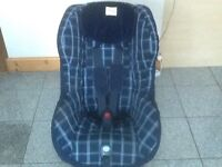 Solid,secure and sturdy group 1 Britax Rennaissance car seat for 9kg upto 18kg(9mthsbto 4yrs)washed