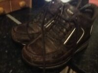 Rockport boots size 8 uk w