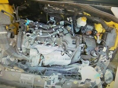2014 2015 FIAT 500 4 DOOR 1.4L TURBO AUTOMATIC ENGINE MOTOR 16k MILES OEM
