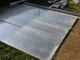 Polycarbonate roof sheets & bars