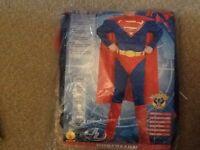 Superman dress up outfit suit older boy