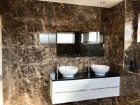 Emperador Stunning bathroom Wall Tiles