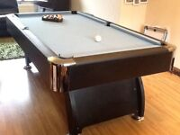 PRICE DROP Eco wood full size pool table NOT slate one year old
