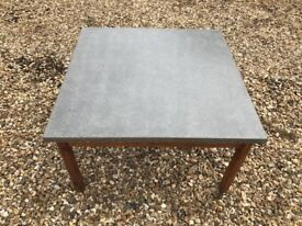 Grey Concrete Industrial Style Coffee Table Nicely Polished