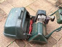 Atco Commador Cylinder mower.