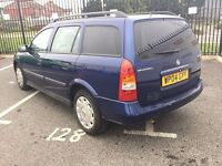 2004 VAUXHALL ASTRA 1.6 CLUB AUTOMATIC ESTATE 1 YEARS MOT & TAX ECONOMICAL CHEAP INSURANCE & TAX
