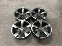 "18 19 20"" Inch Audi TTRS style Alloy wheels A3 A4 A5 A6 A7 A8 Caddy Van Seat Leon Skoda 5x112"