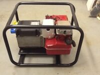 Briggs and Stratton Stephill petrol generator 5hp 2.0kva twin outlets 110v and 240v