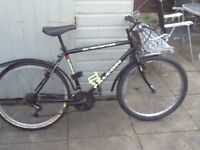 £40 falcon bike 26 wheel20 frame 21 gears all in good condition can deliver for petrol no offers