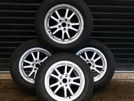*!*Full Set Of 4 Genuine Toyota Alloy Wheels*!* 4 Brand New Tyres **FITMENT 5x114.3** **195/65/15**