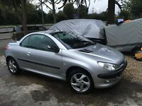 Peugeot 206 cc Convertible for sale £800 !