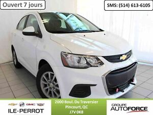 2017 CHEVROLET SONIC SDN LT, DEMARREUR A DISTANCE,