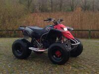 Road legal quad Yamaha blaster , Px - Caravan