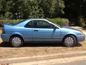 1993 Toyota Paseo (Corolla) Coupe 5 speed man light blue sunroof Nagambie Strathbogie Area Preview