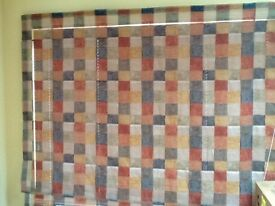 Roman blind in Neutral Colours