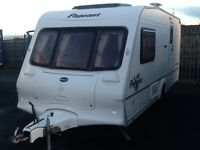 2003 Bailey pageant monarch 2 berth end changing room with fitted mover