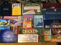 Collection of 18 great board games ,including some vintage ,some rare ( will also sell separately).