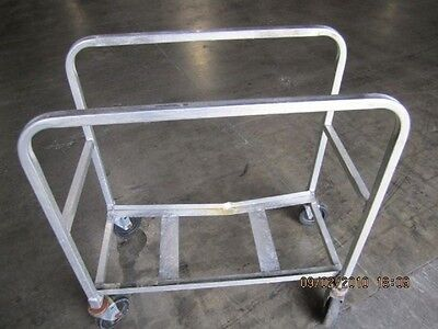 Metal Utility Cart On Casters - Best Price - Must Sell Send Any Any Offer