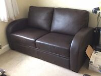 Leather Sofa Bed Settee
