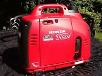 Honda EU10i Portable Generator like new only 10 hours use, no marks or scratches