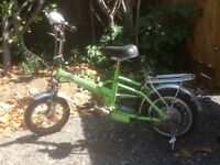 Electric Bicycle, spares or repairs.