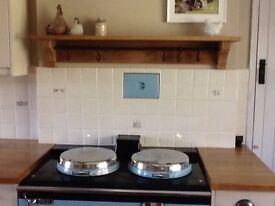 Oak Shelf/Range Cooker/Arga