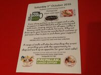 Madhatters Tea Party Macmillan Cancer Support, needs a few volunteers