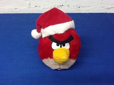 Angry Birds plush Red Bird Santa Hat Christmas