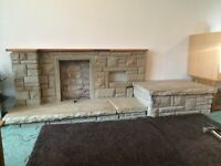 Free York Stone from Fireplace