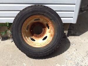 1- rim and tire