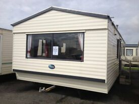 family sized static caravan for sale on quiet park close to beach