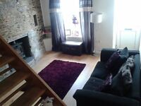 two bedroom cottage in Bodmin. Available august