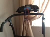 🎁 ideal xmas present 🎁 Foldaway motorised treadmill/running machine with display & speakers