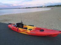 Sit on to sea kayak