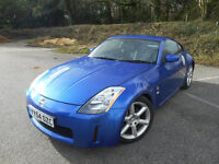 Azure Blue 350z, Fantastic car, 12 months MOT, owned for over 4 years, baby forces reluctant sale