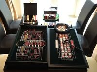 Full table top casino game