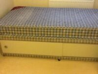 Single 3ft Divan with storage FREE TO COLLECTOR